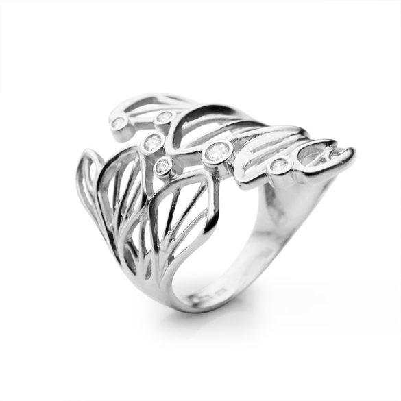 ZLATARNA CELJE - WHITE MAGNOLIA Gyűrű