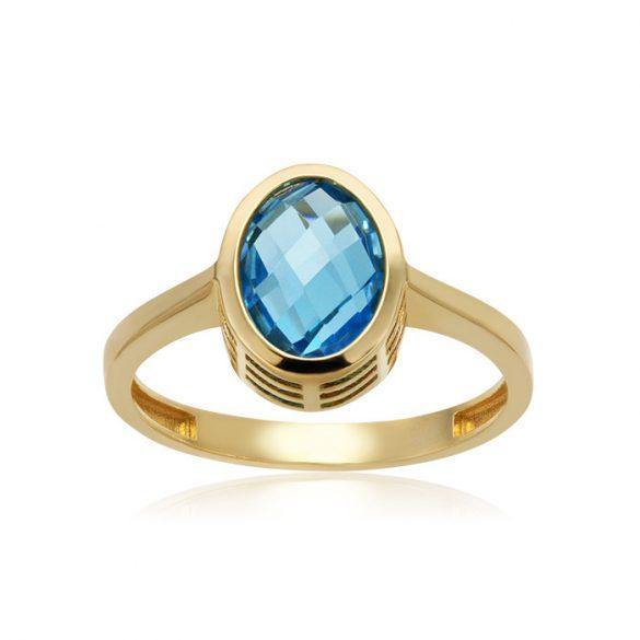 Arany topáz köves gyűrű