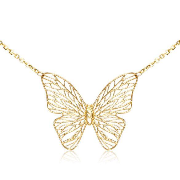 Arany nyaklánc  - Pillangó
