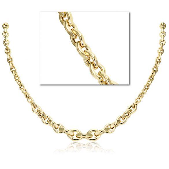 Arany üreges nyaklánc
