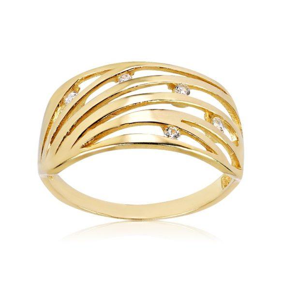 Köves, arany gyűrű