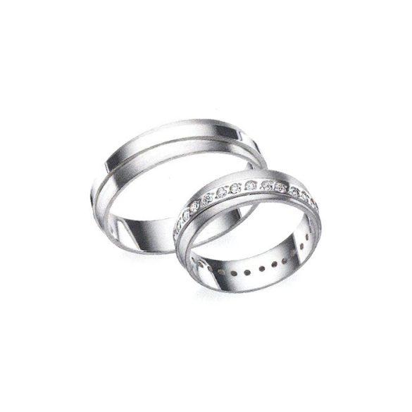 Női Karikagyűrű - 5mm széles, féldomború