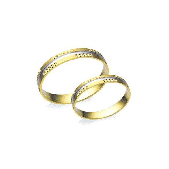 Karikagyűrű - 3,5mm széles, féldomború