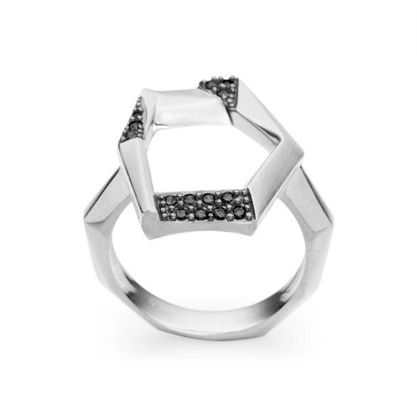 LENCIA - ANGULAR WHITE Gyűrű 32017007