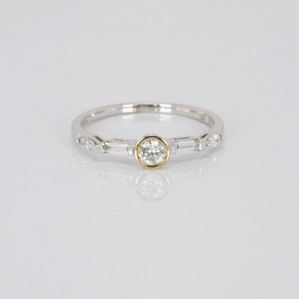 Arany Gyűrű Brillel - 41010675
