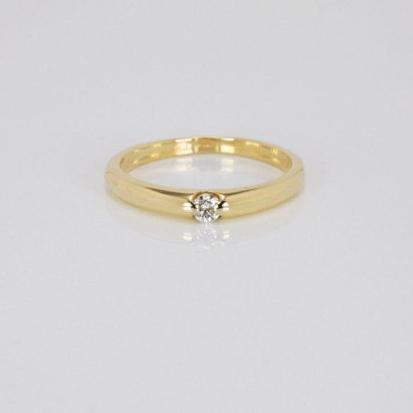 Arany Gyűrű Brillel - 41014108