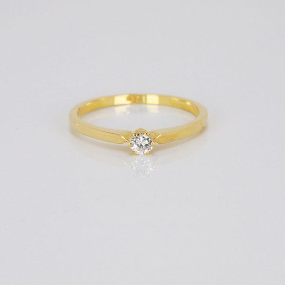 Arany Gyűrű Brillel - 41014826