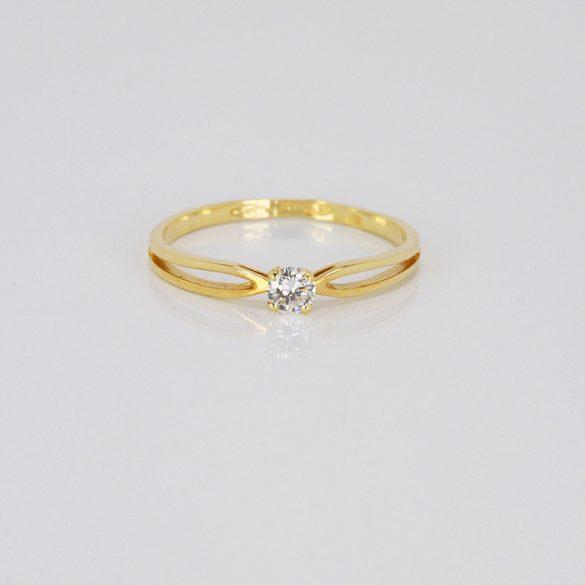 Arany Gyűrű Brillel - 41014827