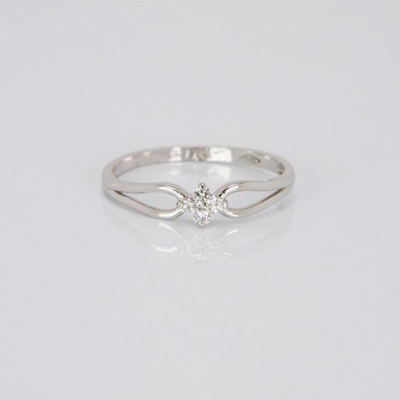 Arany Gyűrű Brillel - 41015436