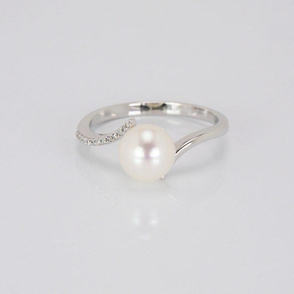 Arany Gyűrű Brillel - 41015786