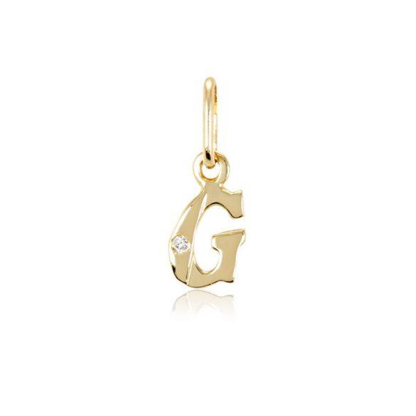 Arany betűmedál - G