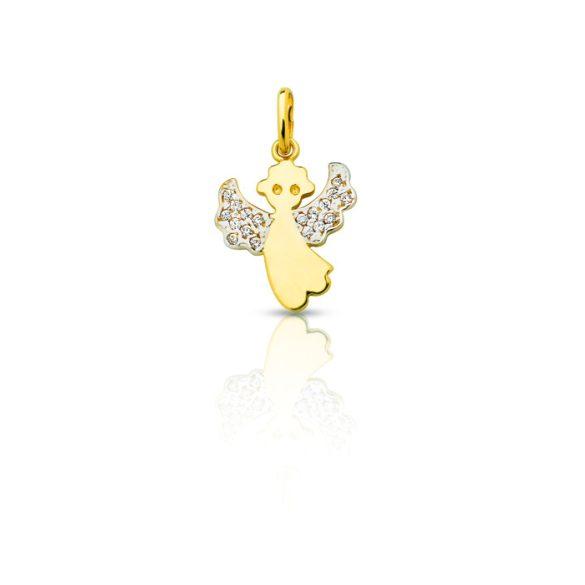 Arany medál, angyalka - 4102M007F