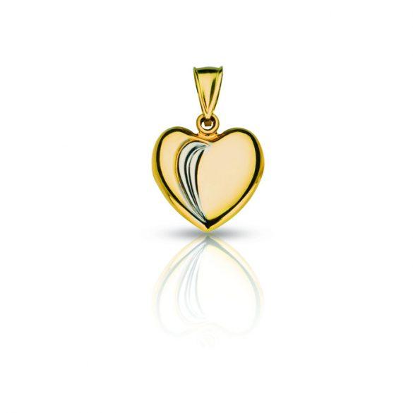 Arany medál, szív - 4120M18F