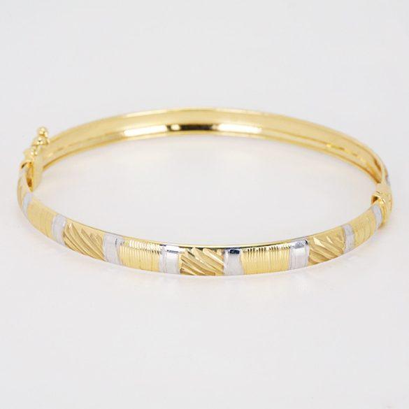 Arany gyémántvésett karreif - 4846H