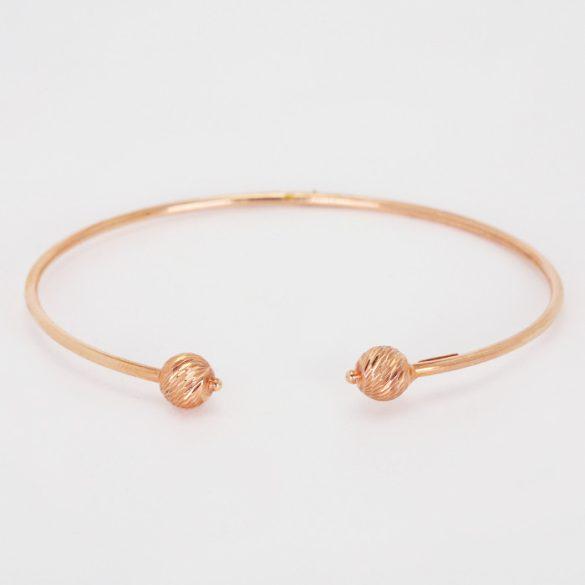 Arany gyémántvésett, gömb karreif - 5935H