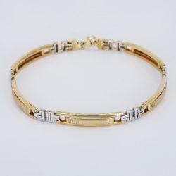 Arany  Fényes, Homokfúvott Karlánc  - 603