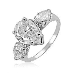Arany Gyűrű Brillel - 6204