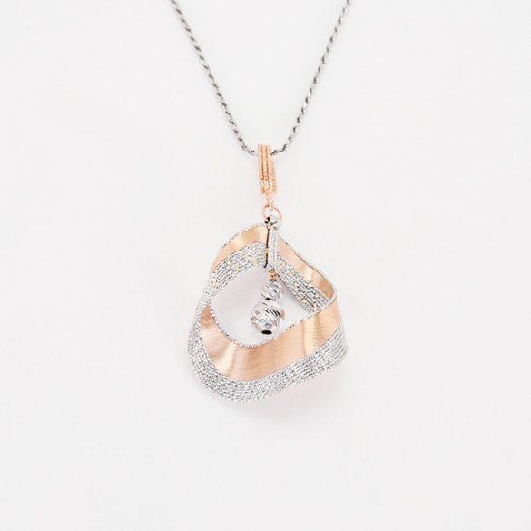 Arany  Lézeres, Gyémántvésett Medál  - 7091H