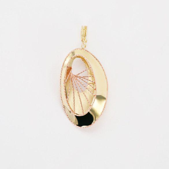 Arany  Lézeres, Gyémántvésett Medál  - 7233H