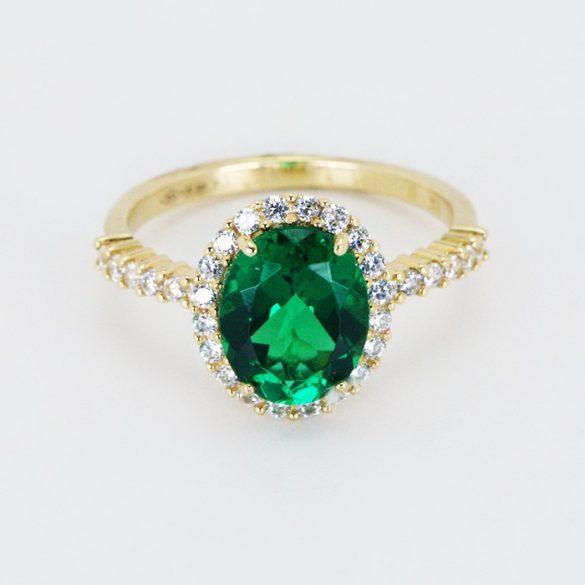 Arany köves gyűrű - 7480H
