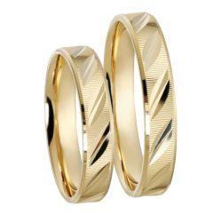 Karikagyűrű - 4mm széles, lapos