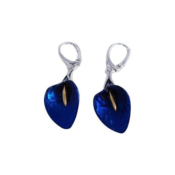 Kék titánium fülbevaló (kicsi) – CEMH