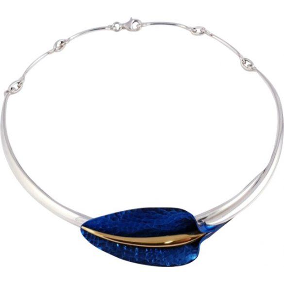 Kék titánium collier (nagy) – CN