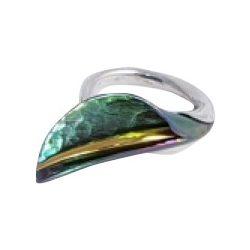 Zöld titánium gyűrű – GERM