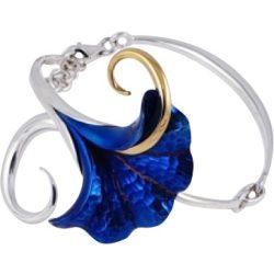 Kék titánium karkötő – IBO