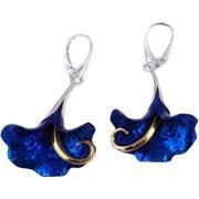 Kék titánium fülbevaló (nagy) – IEH