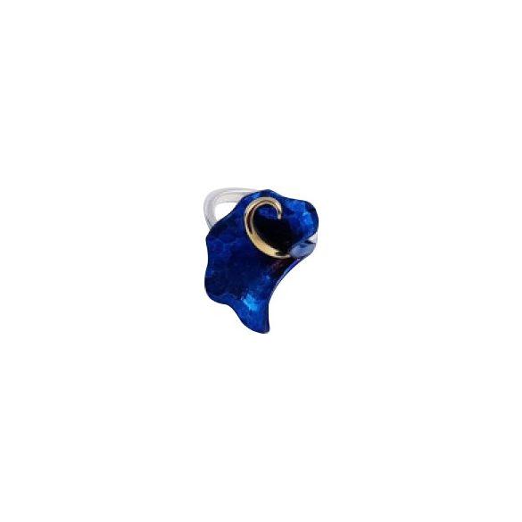 Kék titánium gyűrű – IRM