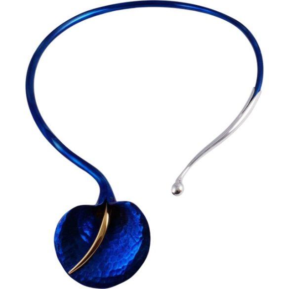 Kék titánium collier – RN