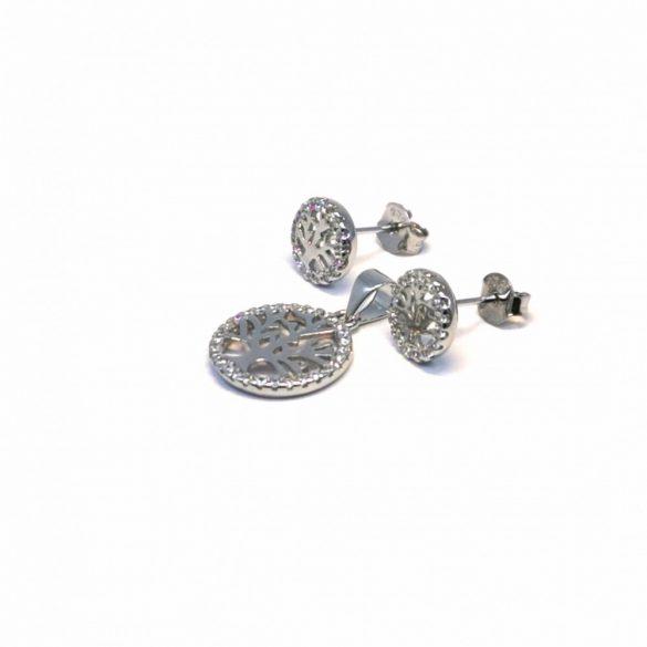 Életfa medál és stekkeres fülbevaló  - S-0065/Ag 925+ Rh